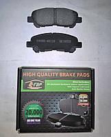 Тормозные колодки задние Toyota Highlander 2007