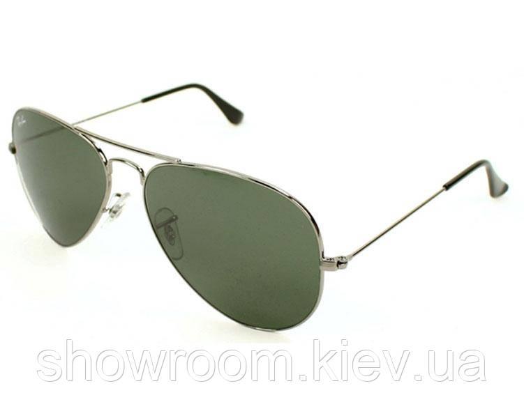 Мужские солнцезащитные очки в стиле RAY BAN aviator 3025,3026 (W3277) Lux