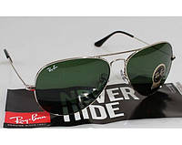 Женские солнцезащитные очки в стиле RAY BAN aviator 3025,3026 (W3277) Lux, фото 1