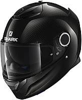 Мотошлем Shark Spartan carbon skin черный, S, фото 1