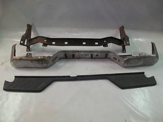 Бампер задний Nissan Navara (D40) 05-13 (Навара)  85022ZP60A