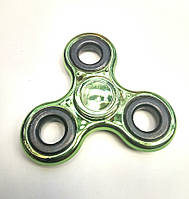 Спиннер металлический зелёный