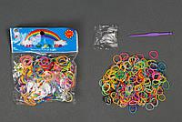 Резиночки для плетения браслетов 300 шт. в пакете