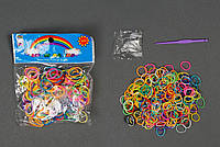 Резиночки для плетения браслетов 300 шт. в пакете, фото 1
