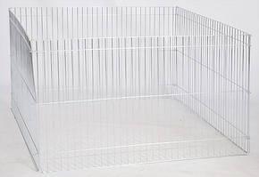 Лорі вольєр 4 секції для тварин (100х60см)