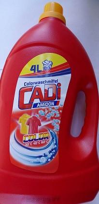Гель для стирки Cadi Color, 4 л (Германия)
