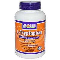 NOW Foods L-Tryptophan 500mg 120 caps