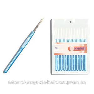 Крючок Kartopu №14 для вязания с мягкой ручкой 0.90 мм