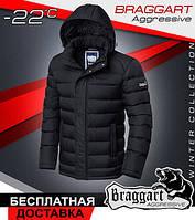 Мужская зимняя куртка тинсулейт 46, Чёрный