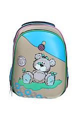 Ранец школьный Fancy Bear, 2 отд.,34*25*13 см 9717