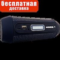 Портативная колонка с фонариком и LED-подсветкой (bluetooth, microsd, usb, радио, mp3, aux) Q600