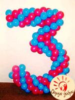 №5 Цифра из шаров Днепр