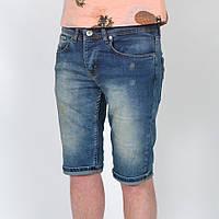 Мужские джинсовые вареные шорты Enjoy - Турция - модель 144-40