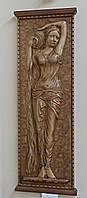 Резная Картина - Дама с Кувшином 1050х380