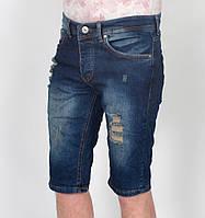 Мужские джинсовые рваные шорты Enjoy - Турция - модель 144-43