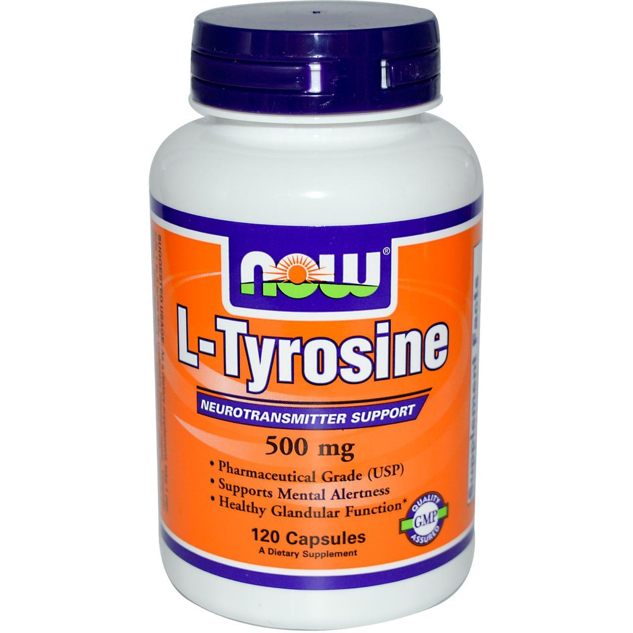 NOW Foods L-Амінокислоти 500 mg 120 caps