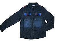 Рубашка для мальчика под джинс, Pepperts, размеры 122, 140, 152, арт. Л-017