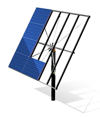 Солнечный трекер двухосный AS Sunflower 20 (система слежения за солнцем) - ECO TECH UKRAINE солнечная энергетика, энергоэффективные технологии. Продажа, строительство, сервис. в Кривом Роге