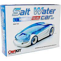 Конструктор эко машинка работает на соленой воде