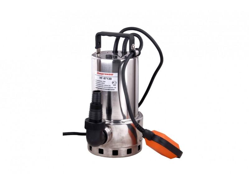 Погружной Насос для грязной воды Энергомаш НГ-97130, 950Вт