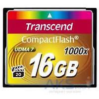 Карта памяти Transcend 16GB CF 1000X X (TS16GCF1000)