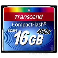 Карта памяти Transcend 16GB CF 400X (TS16GCF400)