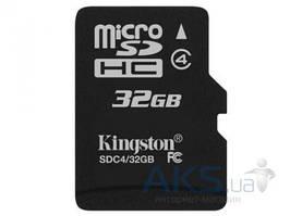 Карта памяти Kingston 32Gb microSDHC class 4 (SDC4/ 32GBSP)