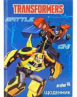 Школьный дневник Transformers TF17-262-1, фото 1