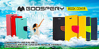 Book Cover Goospery Canvas Diary Meizu M2 Black