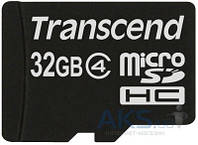 Карта памяти Transcend 32Gb microSDHC class 4 (TS32GUSDC4)