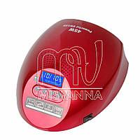 Профессиональная лампа CCFL+LED G2 на 45 Вт для сушки гель-лака, геля с системой охлаждения