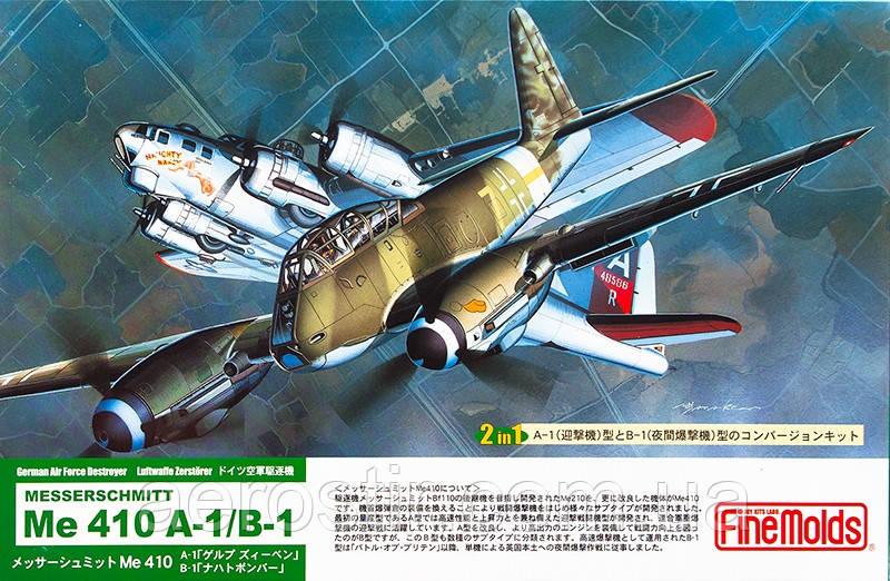 Me 410 A-1/B-1 1/72 FINE MOLDS FL4