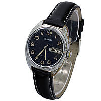 Slava 26 jewels made in USSR часы с календарем -買い腕時計ソ