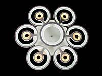 Люстра  классическая, хай-тек, NS 822053/6+1WH