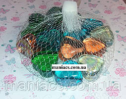 Декоративный стеклянный камень, Сердце