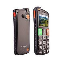 Мобильный телефон Sigma mobile Comfort 50 Light Dual Black 'бабушкофон' на 2 сим-карты