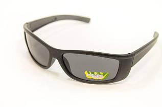 Детские  черные очки спорт
