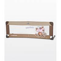 Барьерка Caretero Safari для кровати 120x40 (brown), барьеры на кроватку