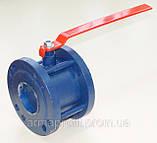 Кран шаровый стальной фланцевый КШУну-50 ЭТОН (11с42п) Ду50 Ру16, фото 2