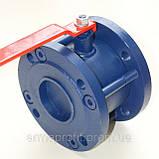 Кран шаровый стальной фланцевый КШУну-50 ЭТОН (11с42п) Ду50 Ру16, фото 3