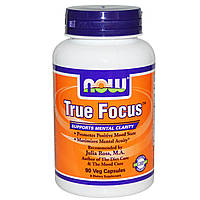 NOW Foods True Focus 90 caps