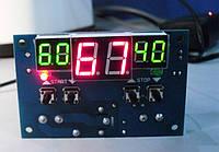 XH-W1401 Терморегулятор,термостат, реле -9 ... +110 / DC 12V, фото 1