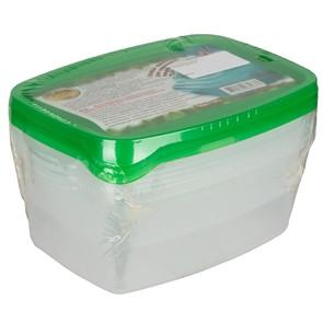 Набор контейнеров ПЛАСТТОРГ 0,7л+1л+1,5л