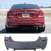 Бампер задний BMW F10 стиль М5