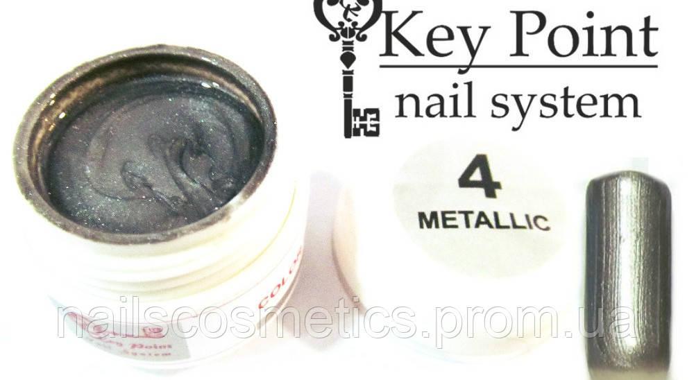 №04 Metallic гель-краска