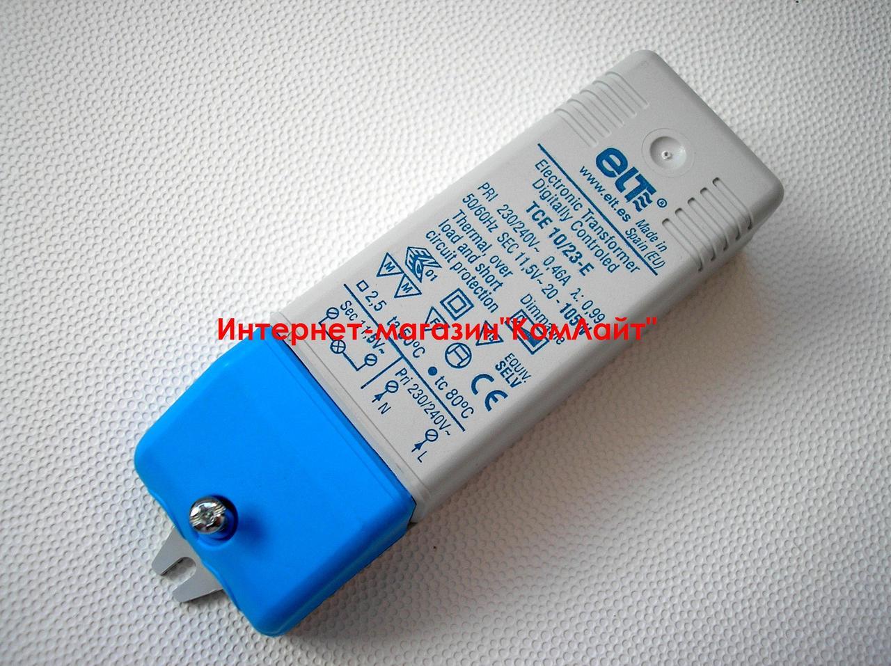 Трансформатор понижающий 105 Вт ELT TCE 10/23-E 20-105W  220/12V(Испания)