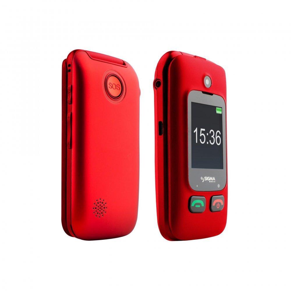 Мобильный телефон Sigma mobile Comfort 50 Shell  Dual Red 'бабушкофон
