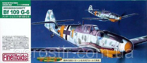Messerschmitt Bf 109 G-6 1/72 FINE MOLDS FL8
