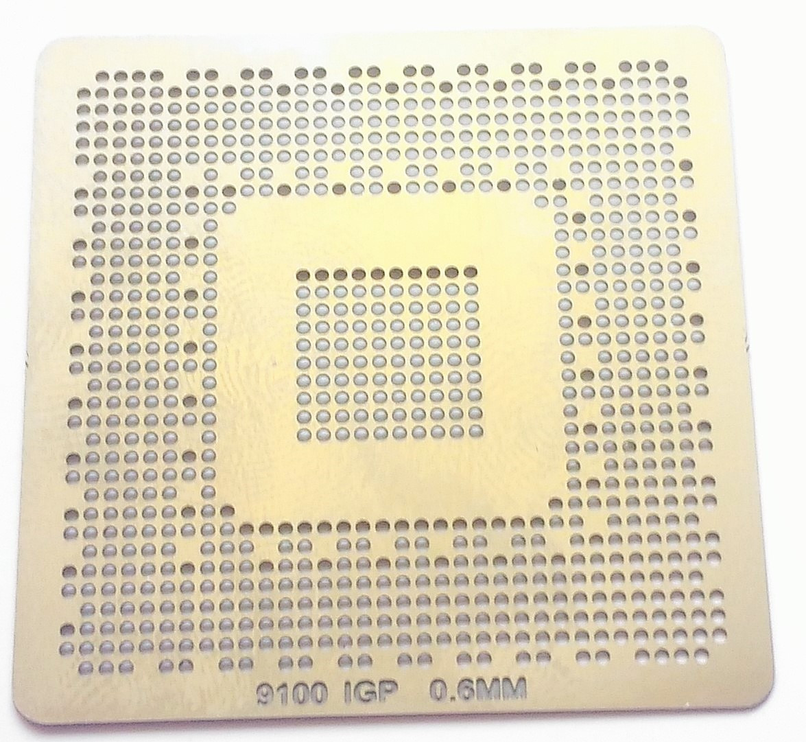 Трафарет BGA 9100 IGP, шар 0,6 мм