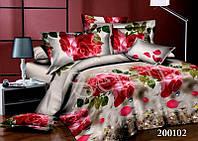 Роза красная Постельное белье ранфорс